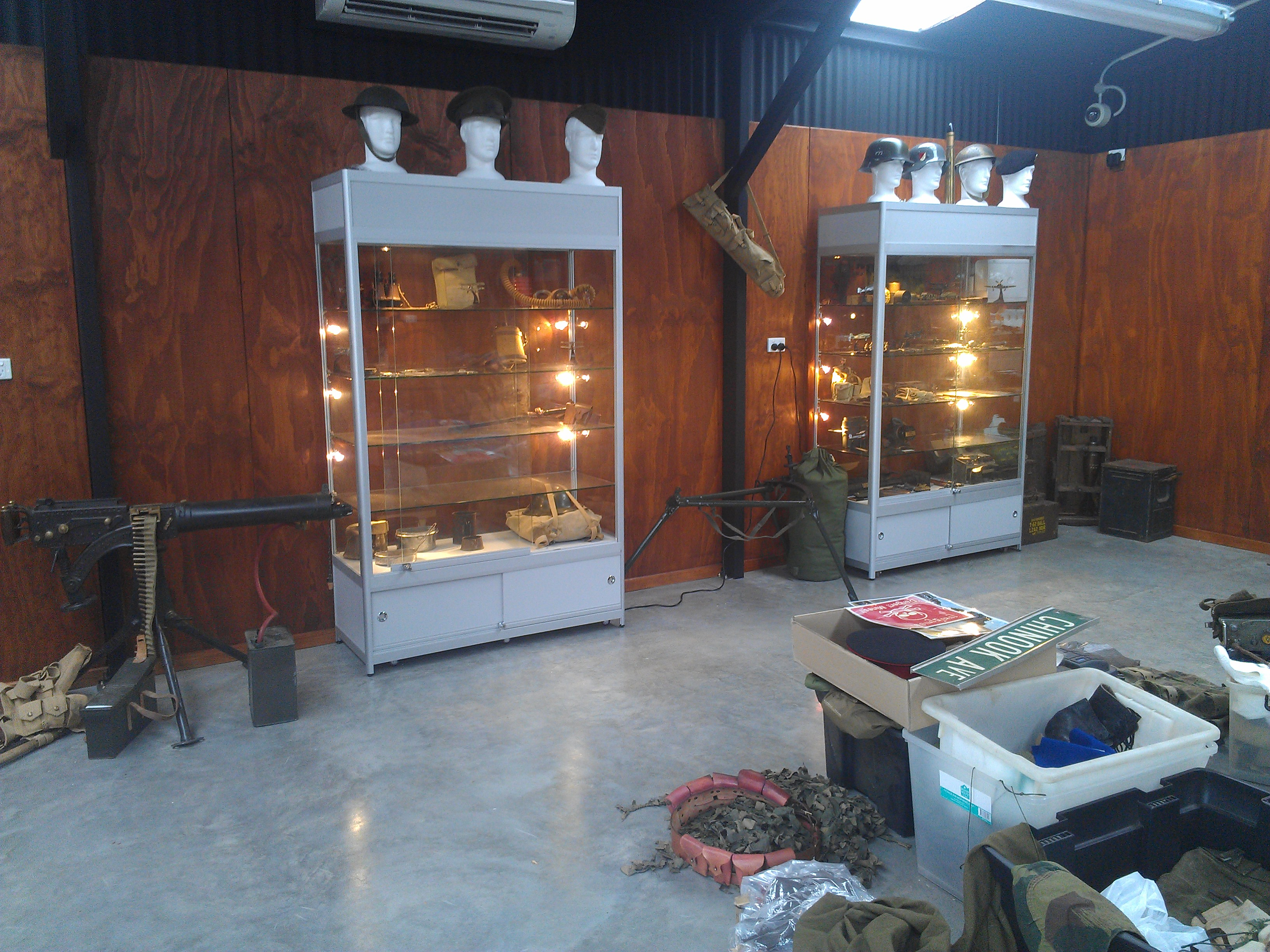 this are the new Cabinets for the Museum